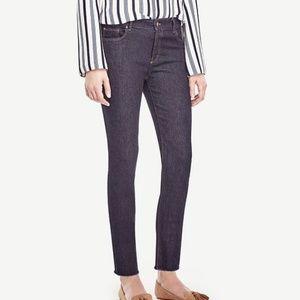Ann Taylor Frayed Crop Jeans
